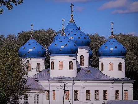 Монастыри Великого Новгорода