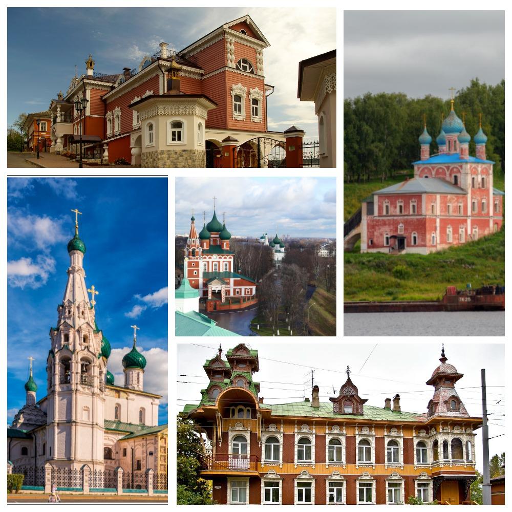 Ярославское Поволжье (Углич – Мышкин – Рыбинск – Тутаев – Ярославль)