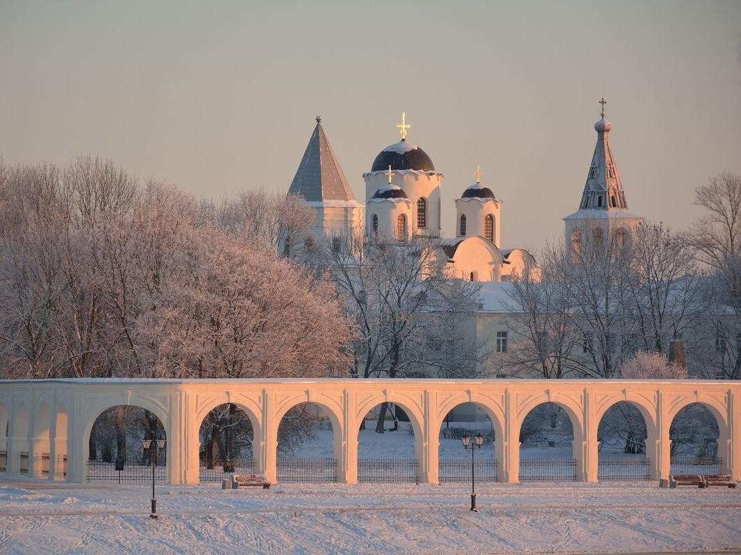 Древние столицы России (Старая Ладога + Великий Новгород)