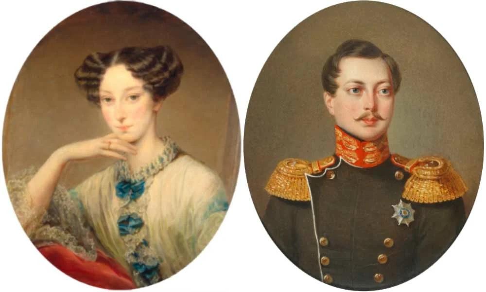 Александр Николаевич и Мария Александровна