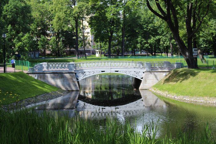 Михайловский и Александровский сады