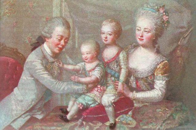 Павел Петрович и Мария Федоровна