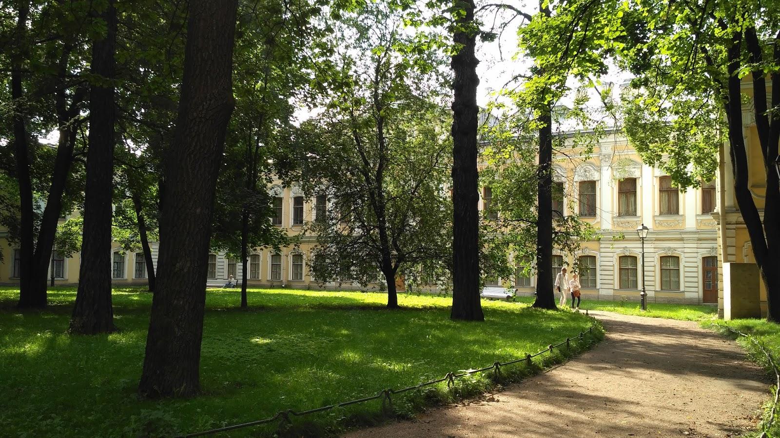 Сад Фонтанного дома и Итальянский