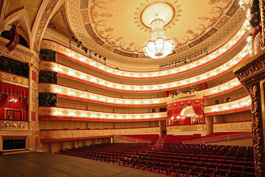 Экскурсия по Александринскому театру