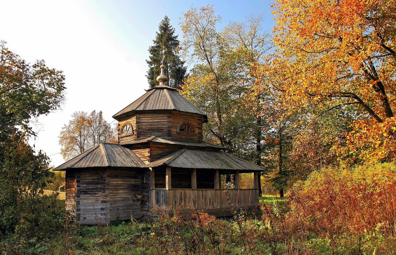 Василёво: шедевры деревянного зодчества