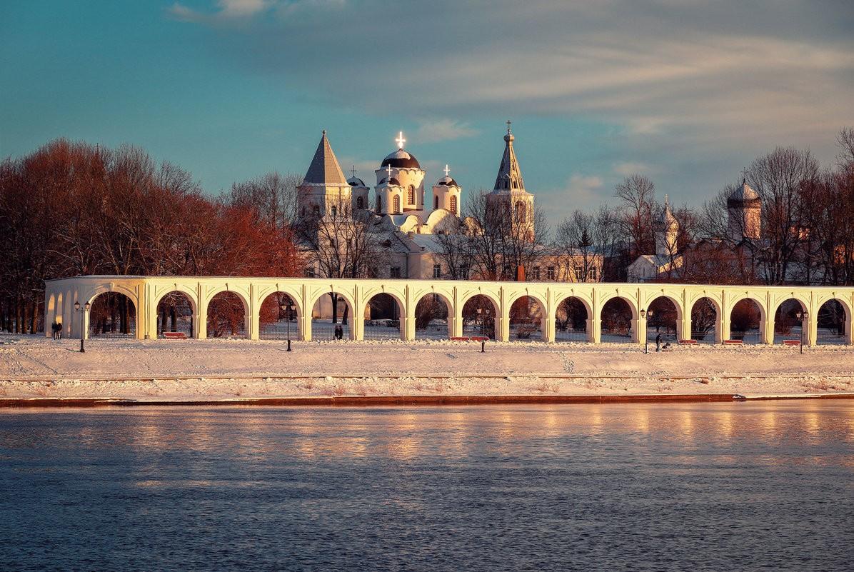 Ярославово дворище и древние храмы