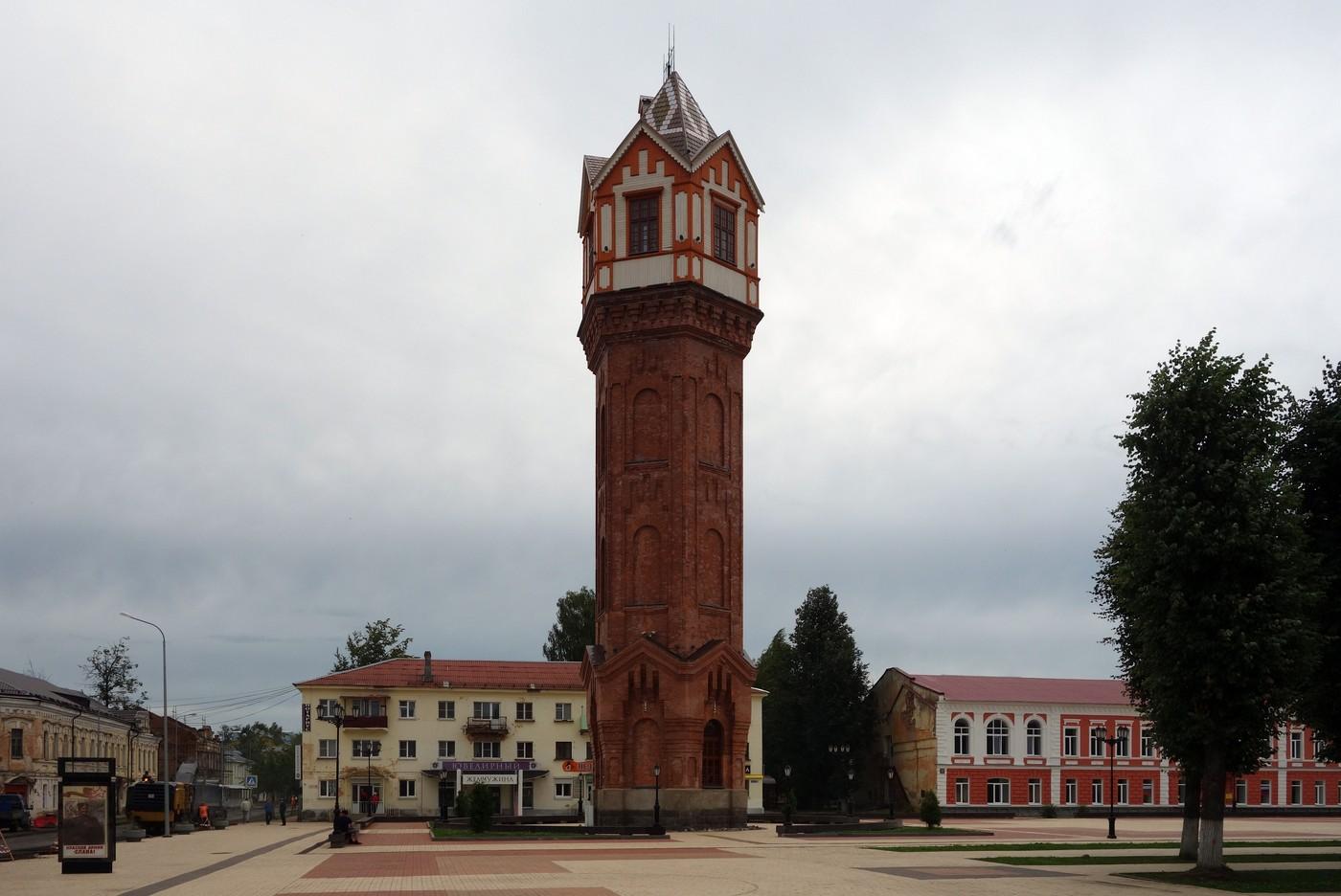 Соборная площадь и духовные ценности Старой Руссы