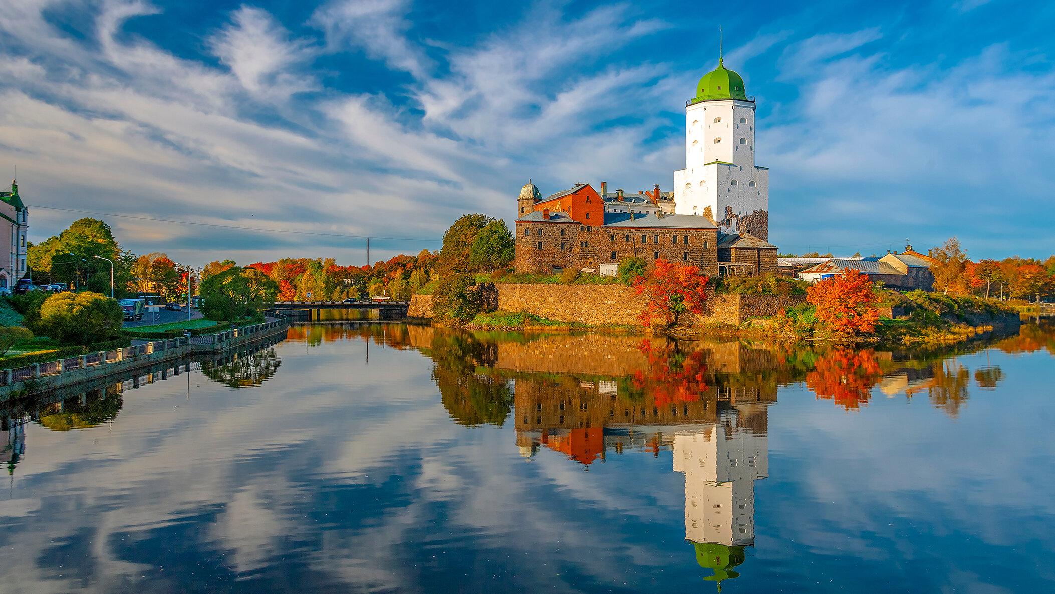Островок Средневековья: Выборгский замок
