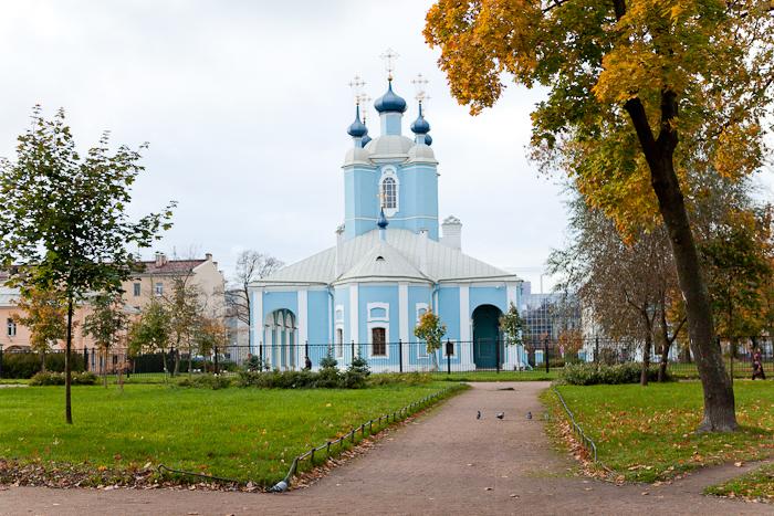 Сампсониевский собор на Выборгской стороне