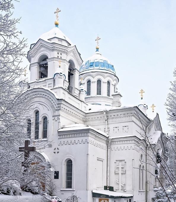 Спасо-Парголовский храм