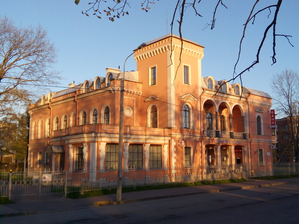 Особняк Гейрота в Петергофе