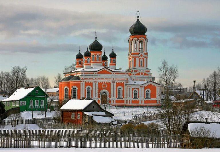 Поселок Крестцы