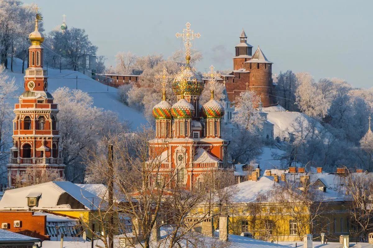 Выезд, трассовая экскурсия с остановками до Нижнего Новгорода