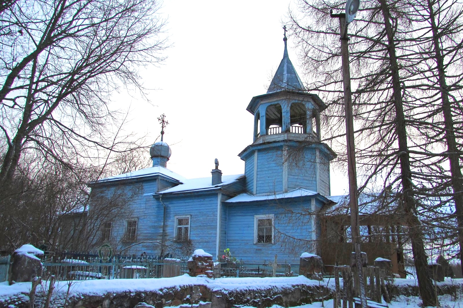 Гаврилова гора — Церковь Николая Чудотворца