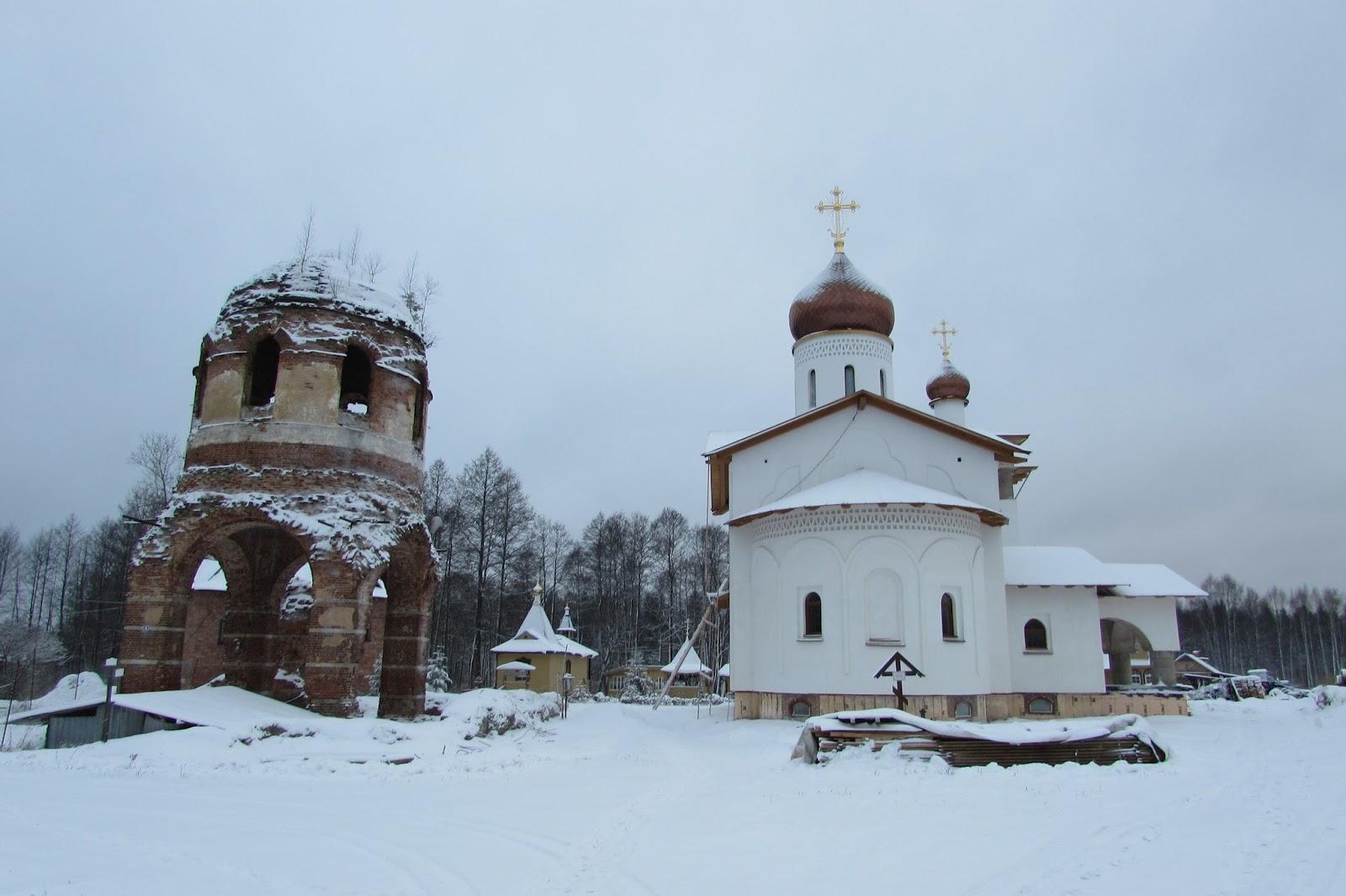 Феофилова пустынь (Успенская церковь)